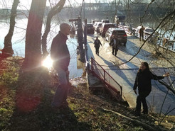 Ferry Breaks Loose From Tether, Floats Down Potomac River