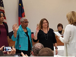Board of Education Holds Swearing In Ceremony for Newly Elected Members