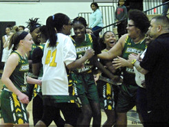 Lady Eagles Hold Off Late Charge by Northwest to Earn Tenth Win