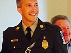 Germantown Cop Honored As Officer of the Year