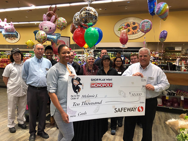 safeway monopoly sweepstakes music teacher wins safeway monopoly collect win 5373