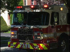 Laptop Battery Explodes Damaging Germantown House and Burning Resident