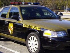 Man Leads Troopers on Chase, Rams Police Car After Theft in Frederick County
