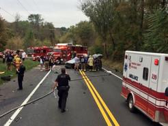 Multi-Vehicle Crash Closed Ridge Road for Hours on Saturday