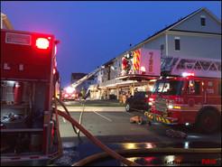 UPDATE: Arsonist Left Message at Clarksburg Townhouse Fire