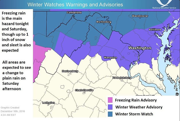 Winter Weather Advisory Issued for Germantown   Germantown
