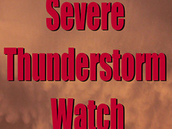 Severe Thunderstorm Watch Issued for Germantown Area