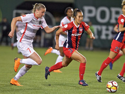 Ordega Scores to Allow Spirit Earn a 1-1 Draw in Portland