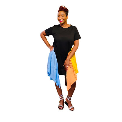 Selina Tee Shirt Dress