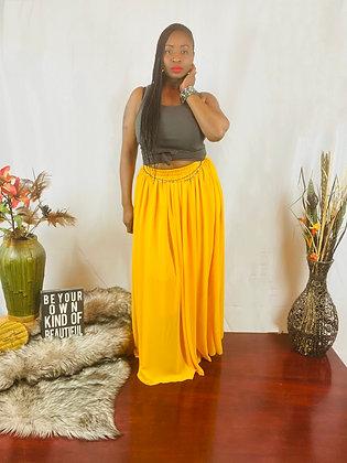 Sunshine Chiffon Skirt