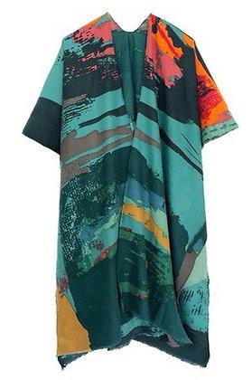 Abstract Kimono