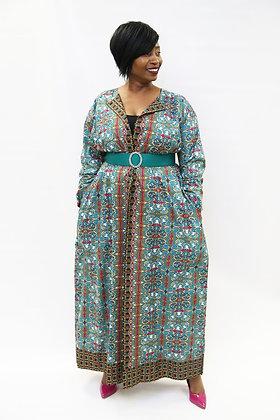 Nubian Goddess Long Jacket