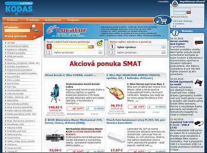 Internetový obchod so spotrebným materiálom