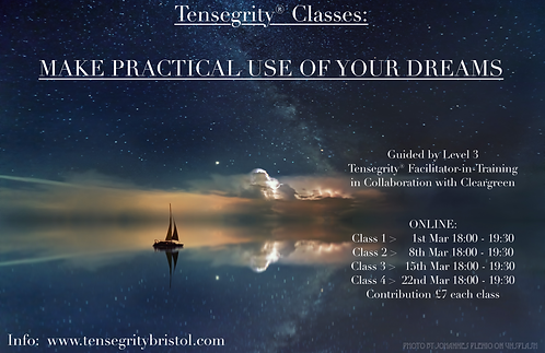 Online class - Make Practical Use of Your Dreams (1 class)