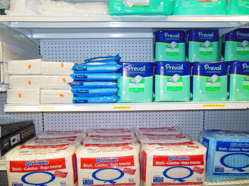 Charles Pfeiffer Inc Staten Island NY Home Medical Supply Store Wet Dry Wipes Diapers