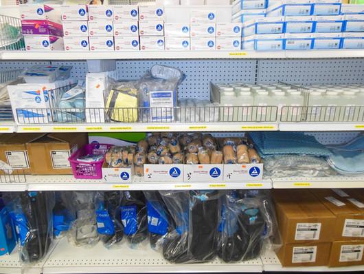 Charles Pfeiffer Inc Staten Island NY Home Medical Supply Store Sensi-Wrap Gloves Saline Cam Walker Boot