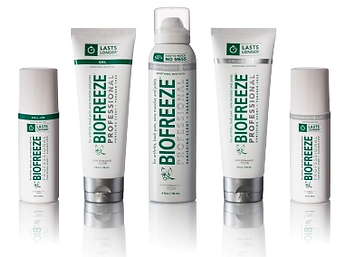 Charles Pfeiffer Inc Staten Island NY Home Medical Supply Store BioFreeze Roll on Gel Spray