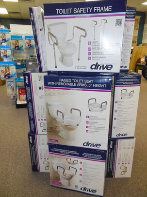 Charles Pfeiffer Inc Staten Island NY Home Medical Supply Store Raised Toilet Seat Safety Frame