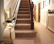 Brooks Stairlift Up
