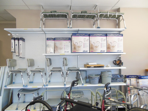 Charles Pfeiffer Inc Staten Island NY Home Medical Supply Store Bathroom Safety Aids Shower Chair Commode