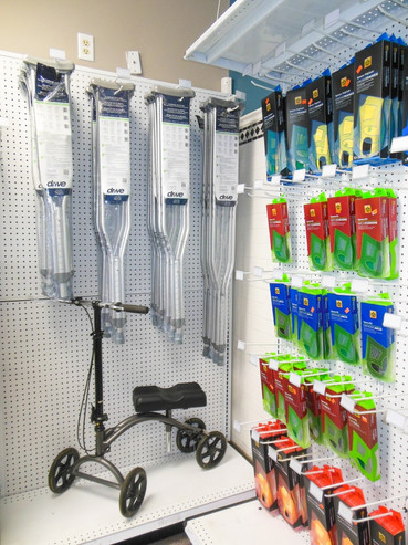 Charles Pfeiffer Inc Staten Island NY Home Medical Supply Store Crutches Knee Walker Scooter Spenco Insole