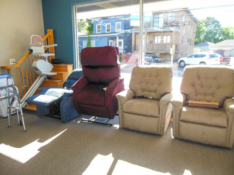 Charles Pfeiffer Inc Staten Island NY Home Medical Supply Store Stairlift Seat Lift Chair