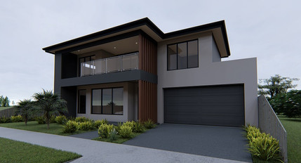 Double Storey custom architectural design