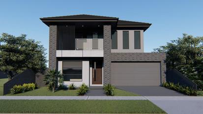 Custom double storey design architecturally designed
