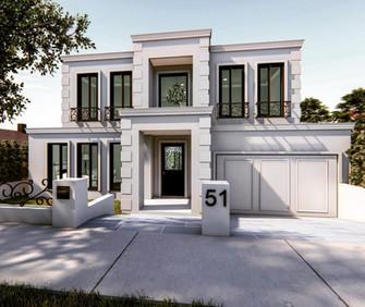 Custom Home Architecturally Designed Essendon