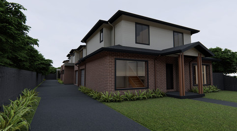 Archietcturally designed Multi Townhouse development site on Coburg Town Planning Permit