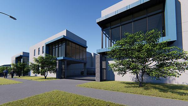 Warehouse Factory Desig melbourne plannin permit