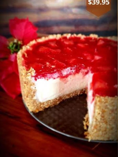 Pretzel Salad Cheesecake
