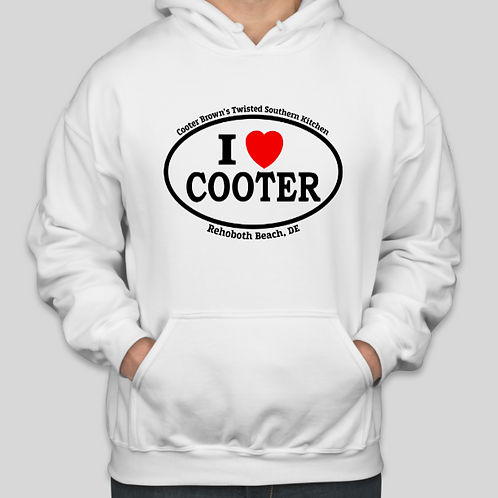 I Heart Cooter Hoodie