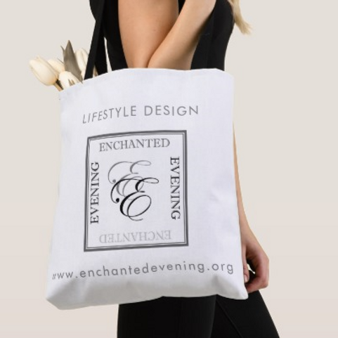 Cafe by Enchanted Evening Tote