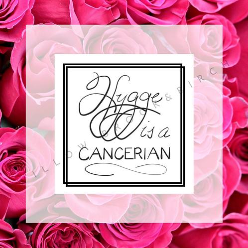 Digital Poster Wall/Desk Art Print (Hygge Cancerian-rose 4 photos)