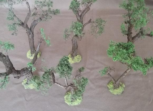 "Pack de 6 ""arbres"""