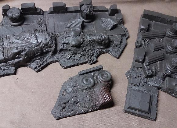 """Pack de 3 """"ruines olympe"""""""
