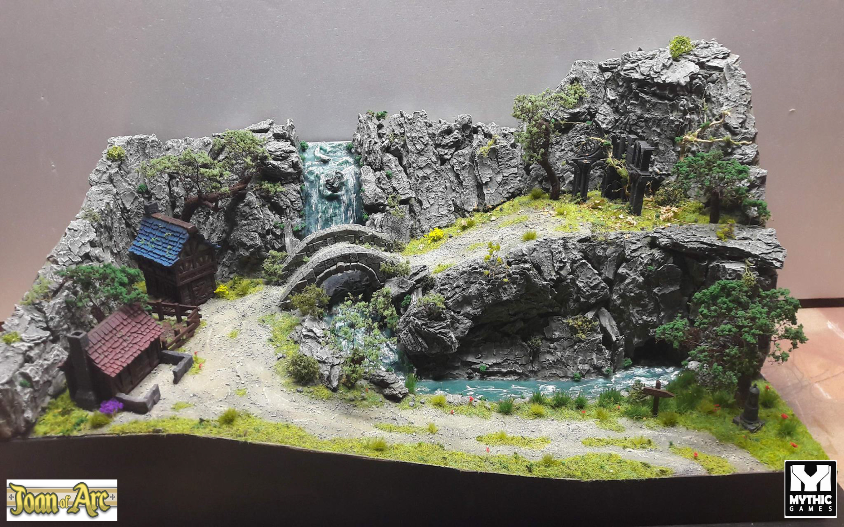 "Diorama ""Joan of Arc"""