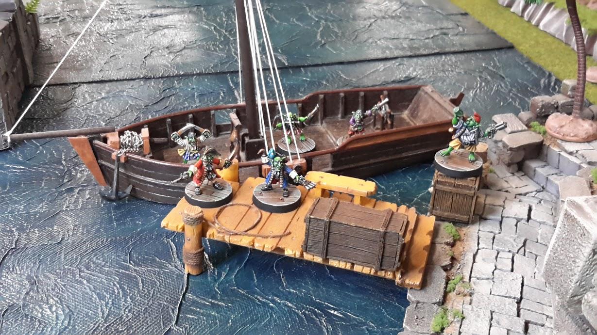 """Planche de jeu """"pirates"""""""