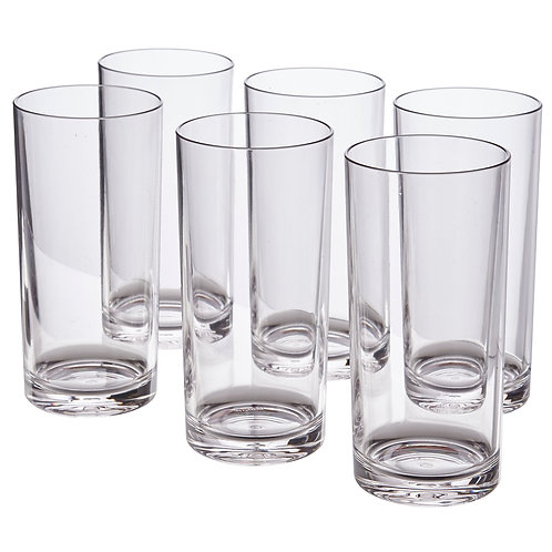 Classic 16-ounceWater Tumblers   set of 6