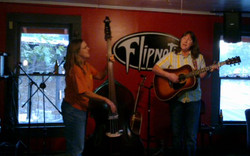 Playing at Flips before they closed