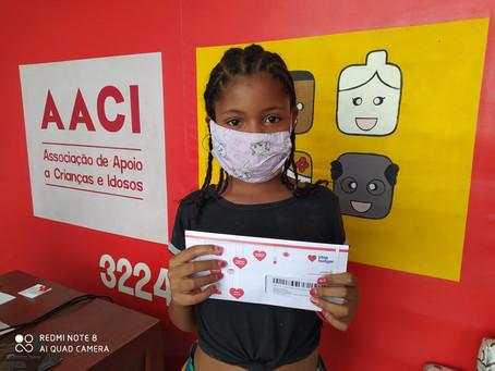 AACI foi uma das ONGs beneficiadas na maratona e-SERVATHON 20 do Instituto Stop Hunter.