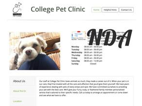 Clinic Website (cpccollegepetclinic.com)