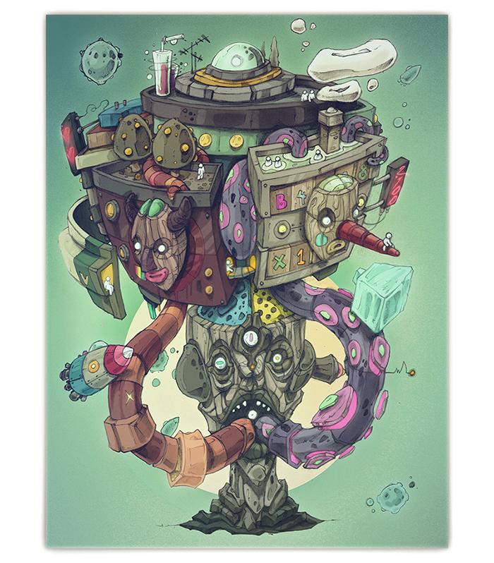Fantasía de Robot