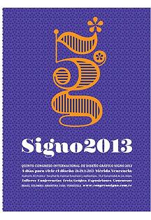 5to Congreso Internacional de Diseño Gráfico SIGNO - Mérida Venezuela