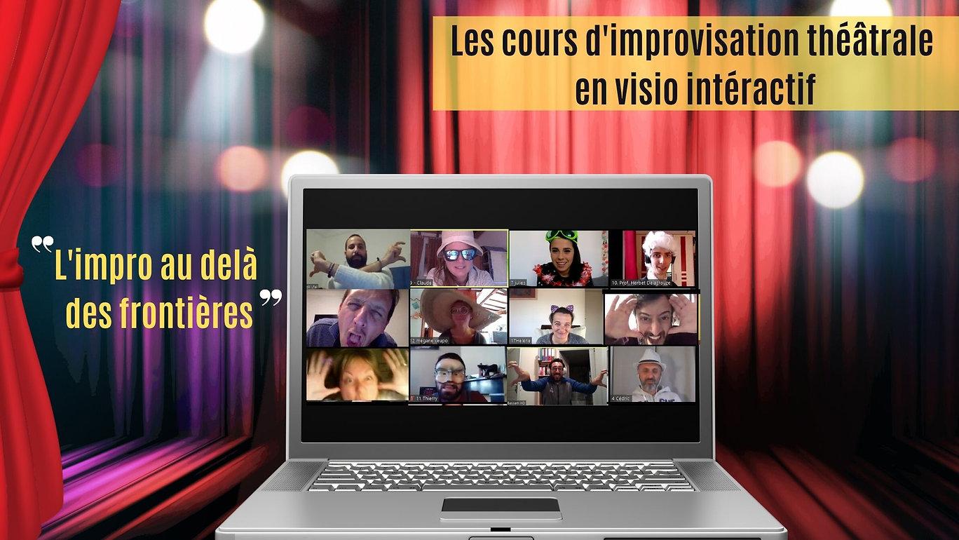 Cours en ligne de théâtre d'improvisatio