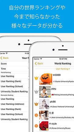 世界中のユーザーとリアルタイムコミュニケーション, V-Ranker