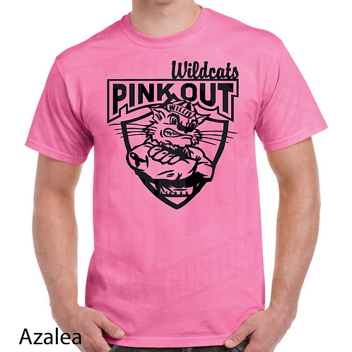 Willie Wildcat Pink Out