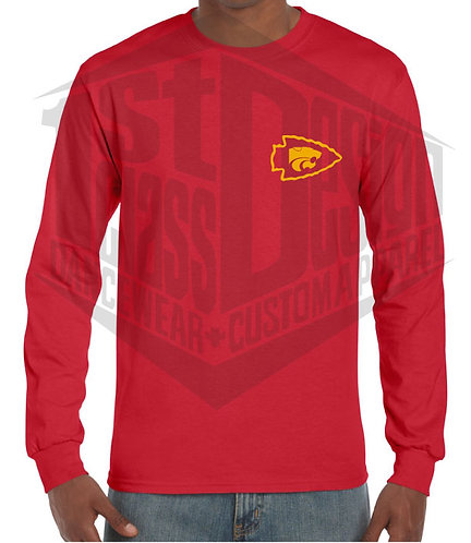 Classic Mahomes 15 LEFT CHEST LONG SLEEVE