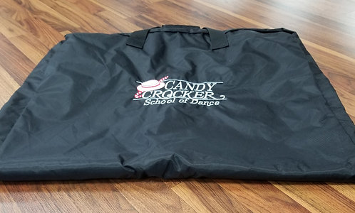 570 Candy Crocker garment bag with embroidered logo